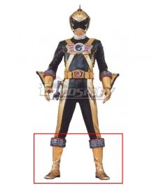 Power Rangers RPM Ranger Operator Series Gold Golden Shoes Cosplay Boots