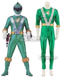 Power Rangers RPM Ranger Operator Series Green Cosplay Costume