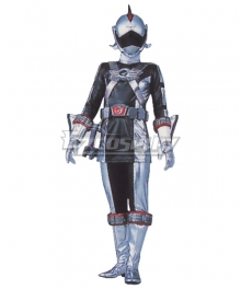 Power Rangers RPM Ranger Operator Series Silver Cosplay Costume