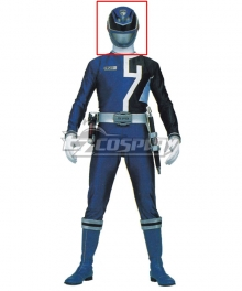 Power Rangers S.P.D. SPD Blue Ranger Helmet Cosplay Accessory Prop