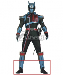 Power Rangers S.P.D. SPD Shadow Ranger Black Shoes Cosplay Boots