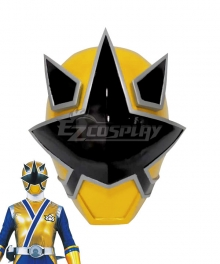 Power Rangers Samurai Gold Samurai Ranger Helmet Cosplay Accessory Prop