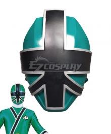 Power Rangers Samurai Green Samurai Ranger Helmet Cosplay Accessory Prop