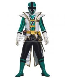 Power Rangers Samurai Green Samurai Ranger Super Samurai Mode Cosplay Costume