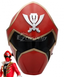 Power Rangers Super Megaforce Super Megaforce Red Helmet Cosplay Accessory Prop