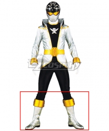 Power Rangers Super Megaforce Super Megaforce Silver Silver Shoes Cosplay Boots
