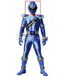 Power Rangers Super Sentai Mashin Sentai Kiramager Kiramai Blue Helmet Cosplay Accessory Prop