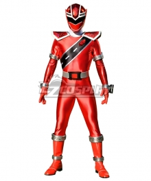 Power Rangers Super Sentai Mashin Sentai Kiramager Kiramai Red Cosplay Costume