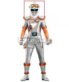Power Rangers Super Sentai Mashin Sentai Kiramager Kiramai Silver Helmet Cosplay Accessory Prop