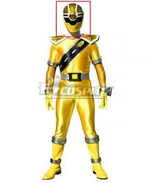 Power Rangers Super Sentai Mashin Sentai Kiramager Kiramai Yellow Helmet Cosplay Accessory Prop