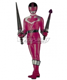 Power Rangers Time Force Time Force Pink Cosplay Costume