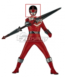 Power Rangers Time Force Time Force Red Helmet Cosplay Accessory Prop