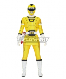 Power Rangers Turbo Yellow Turbo Ranger Cosplay Costume