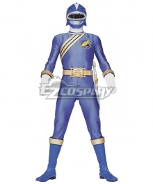Power Rangers Wild Force Blue Wild Force Ranger Cosplay Costume