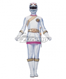 Power Rangers Wild Force White Wild Force Ranger Cosplay Costume