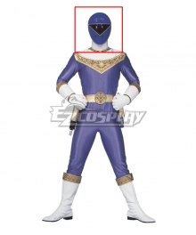 Power Rangers Zeo Ranger III Blue Helmet Cosplay Accessory Prop