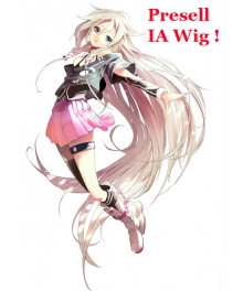 Vocaloid 3 Library IA Cosplay Wig 130cm