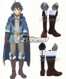 Princess Connect!Re: Dive Yuuki Brown Shoes Cosplay Boots