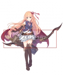 Princess Connect! Re:Dive Arisa Bow Cosplay Weapon Prop