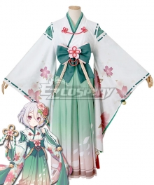 Princess Connect! Re:Dive Kokoro Natsume New Year Kimono Cosplay Costume