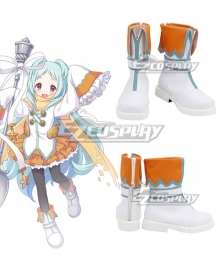 Princess Connect! Re:Dive Miyako Izumo White Shoes Cosplay Boots
