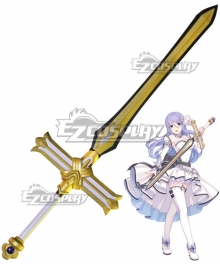 Princess Connect! Re:Dive Shizuru Hoshi no Sword Cosplay Weapon Prop