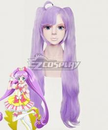 PriPara Laala Manaka Purple Cosplay Wig