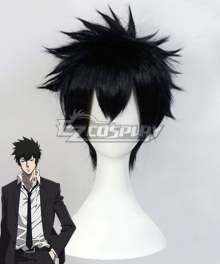 Psycho Pass Kogami Shinya Black Cosplay Wig