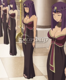 Queen's Blade Amaran Servants B Cosplay Costume