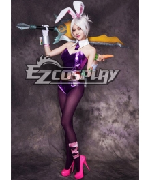 League of Legends Riven Bunny Girl Cosplay Costume