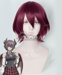 Rage Of Bahamut Manaria Friends Shingeki No Bahamut Manaria Friends Grea Purple Cosplay Wig