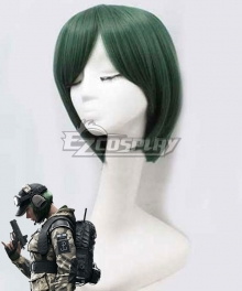 Rainbow Six Ela Green Cosplay Wig