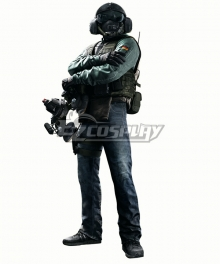 Rainbow Six Siege Jager Cosplay Costume