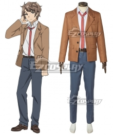Rascal Does Not Dream of Bunny Girl Senpai Seishun Buta Yarou Wa Bunny Girl Senpai No Yume Wo Minai Sakuta Azusagawa Cosplay Costume