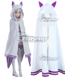 Re: Life In A Different World From Zero Emilia Cloak Cosplay Costume