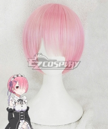 Re: Life In A Different World From Zero Ram Pink Cosplay Wig