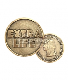 Ready Player One Parzival Wade Owen Watts Art3mis Samantha Evelyn Cook Extra Life Coin Commemorative Coin Cosplay Accessory Prop - Only One