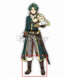 Record Of Grancrest War Grancrest Senki Theo Cornaro Brown Shoes Cosplay Boots