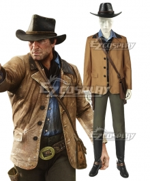 Red Dead: Redemption 2 Red Dead: RedemptionⅡ Arthur Morgan Cosplay Costume