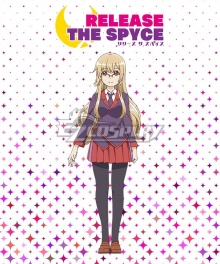 RELEASE THE SPYCE Hatsume Aoba Autumn School Uniform Cosplay Costume