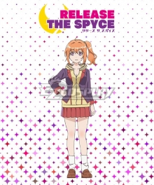 RELEASE THE SPYCE Mei Yachiyo Autumn School Uniform Cosplay Costume