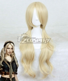 Renders Sucker Punch Babydoll Golden Cosplay Wig