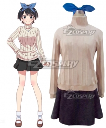 Rent a Girlfriend Kanojo Okarishimasu Ruka Sarashina Cosplay Costume