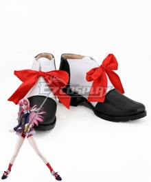 Revolutionary Girl Utena Utena Tenjou White Red Black Cosplay Shoes