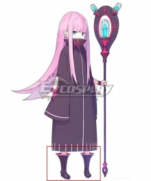 Re:Zero Re: Life In A Different World From Zero Lewes Meyer Black Cosplay Shoes