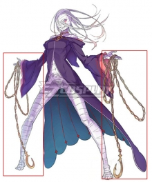 Re:Zero Re: Life In A Different World From Zero Sirius Romanee-Conti Sirius Chain Cosplay Weapon Prop