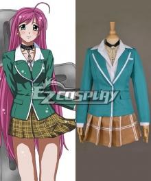 Rosario + Vampire Akashiya Moka School Uniform Cosplay Costume