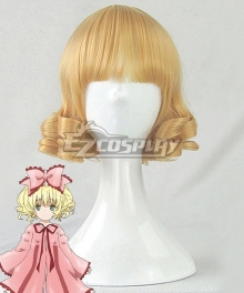 Rozen Maiden Hinaichigo Golden Cosplay Wig