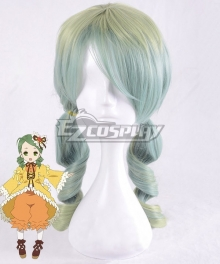 Rozen Maiden Kanaria Lolita Green Yellow Cosplay Wig