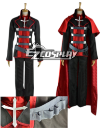 RWBY Leader of Team RWBY Ruby Rose Cosplay Costume Male Version